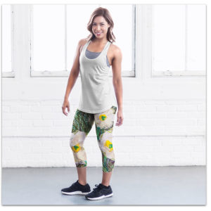 Womens fashion Yoga Capri Pants, Vida fashion, Feast Fashion