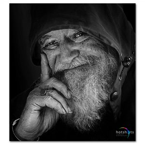 Studio portrait photography Black and white portrait photo art - Spider Awards nominee